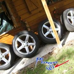 4 Kompletträder Alufelge Pirelli 245 50 19 Chevrolet Camaro etc.